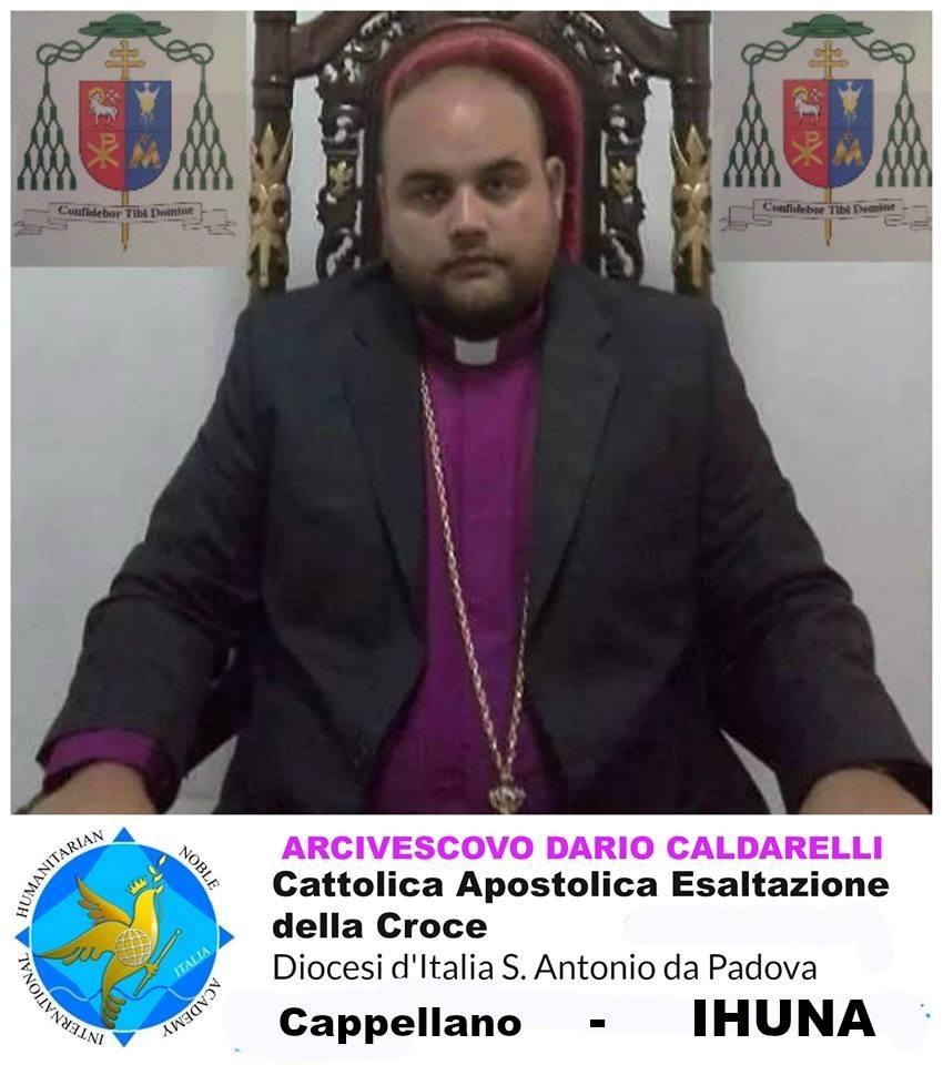 Arcivescovo Dario Caldarelli