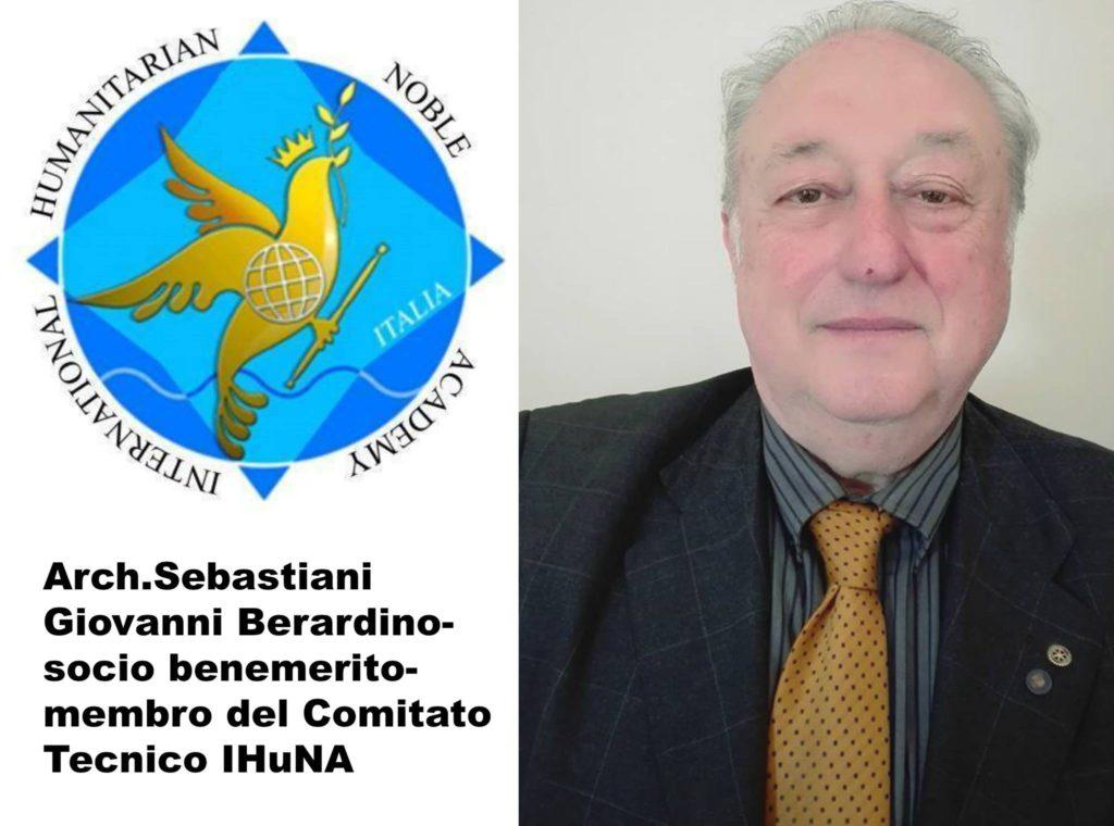 Arch. Giovanni Beradino Sebastiani