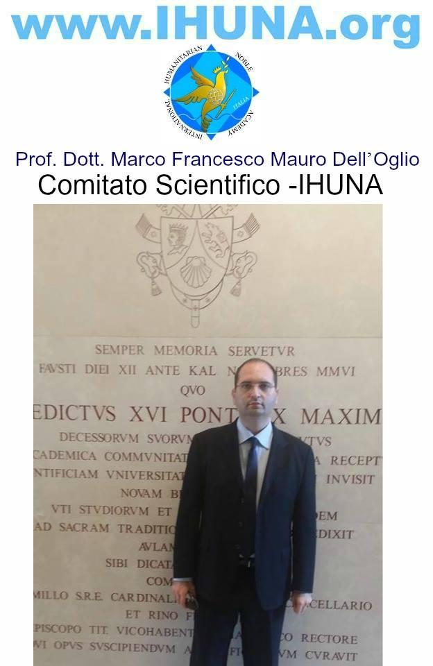 Prof. Dott. Marco Francesco Mauro Dell'Oglio