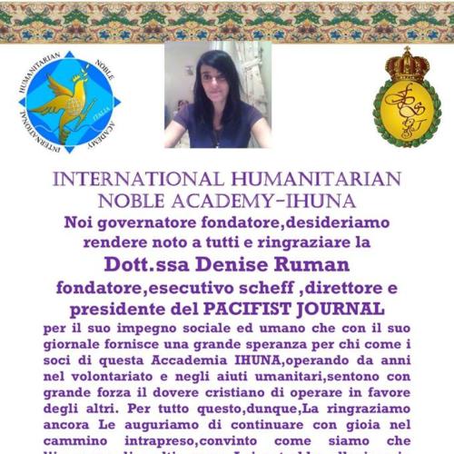Attestato Denise Ruman