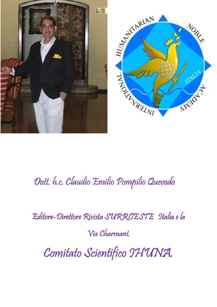 Scheda Claudio Emilio Pompilio Quevedo